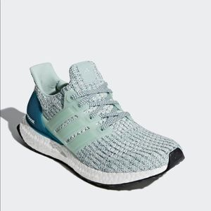 Adidas ultra boost ash green/ real teal sneaker 11